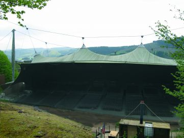 Grand Stand Open-air Theatre in Elspe built in Germany in 1978