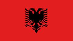 Flag Albania