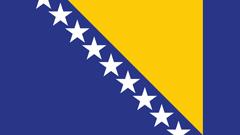 Flag Bosnia & Herzegovina