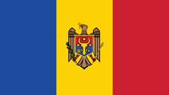 Flagge Moldavien