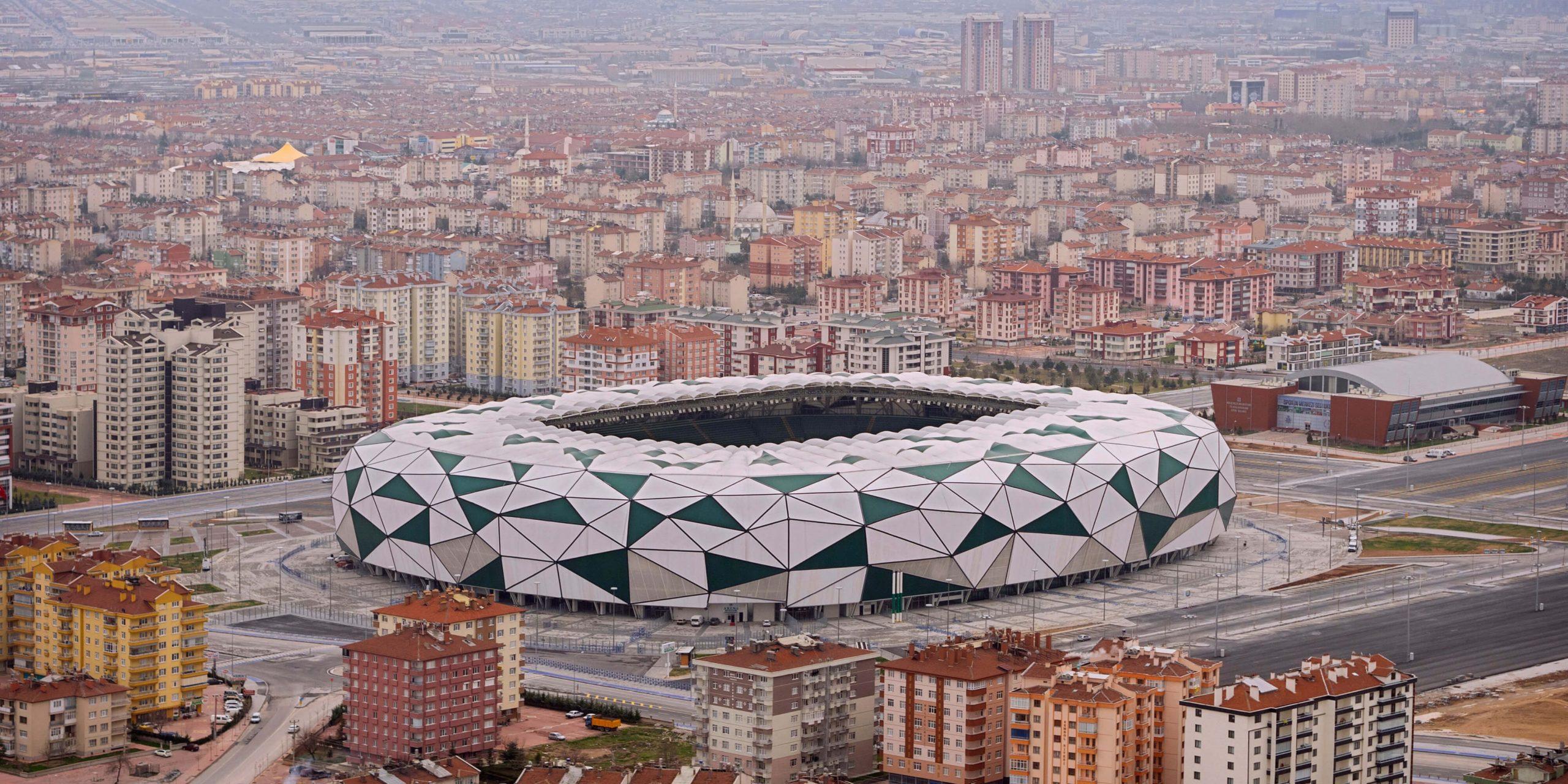 Konya Arena von oben